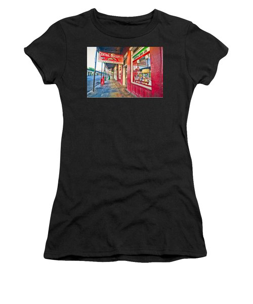 Central Grocery And Deli In The French Quarter Women's T-Shirt