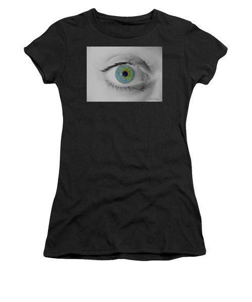 Central Heterochromia  Women's T-Shirt