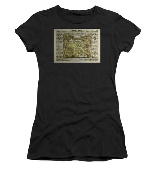 Central Park 1863 Women's T-Shirt (Athletic Fit)