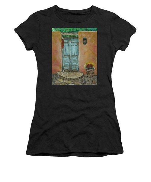 Cerrillios Blue Door Women's T-Shirt