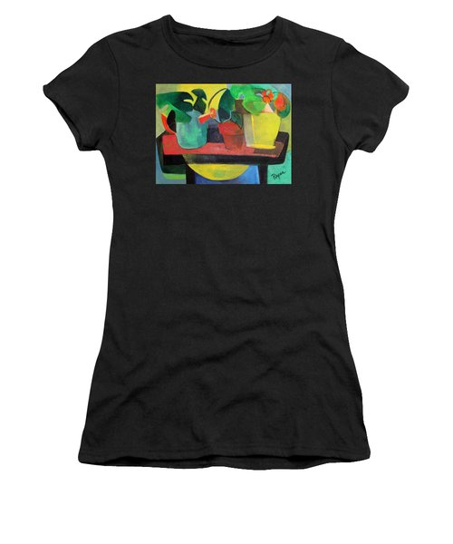 Cezanne Potting Stand Women's T-Shirt