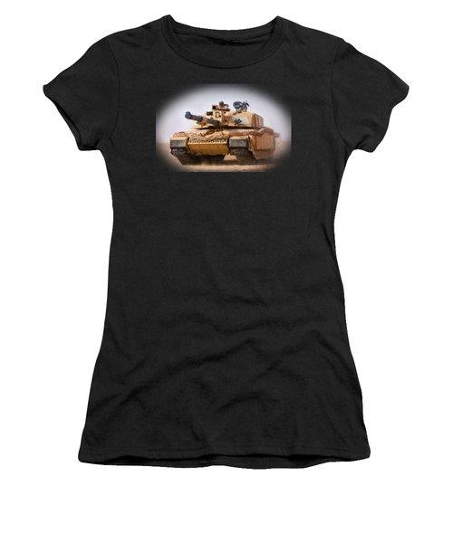 Challenger Tank Painting Women's T-Shirt