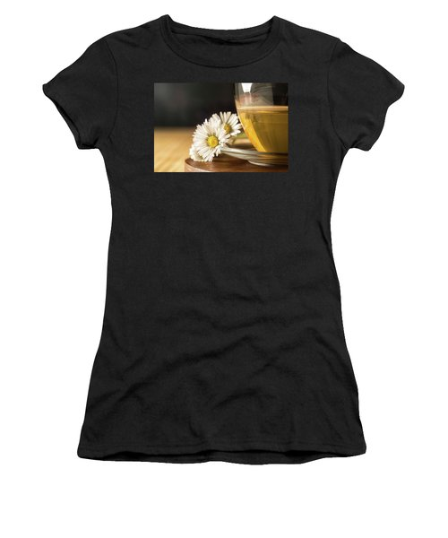 Women's T-Shirt featuring the photograph Chamomile by Traven Milovich