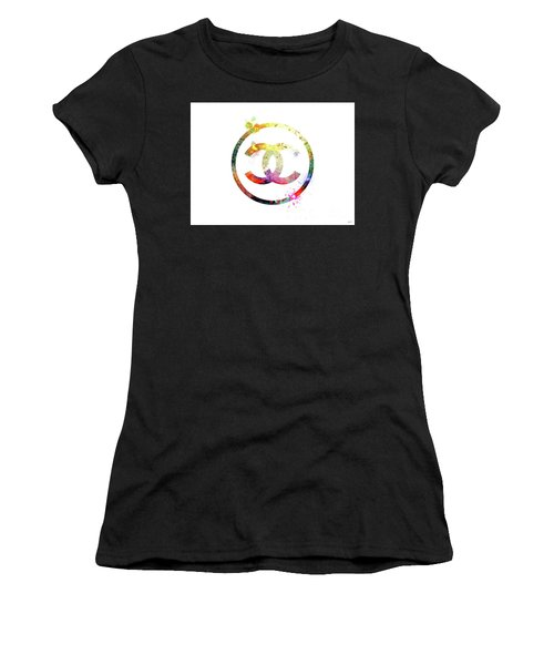 Chanel Logo Women's T-Shirt (Athletic Fit)