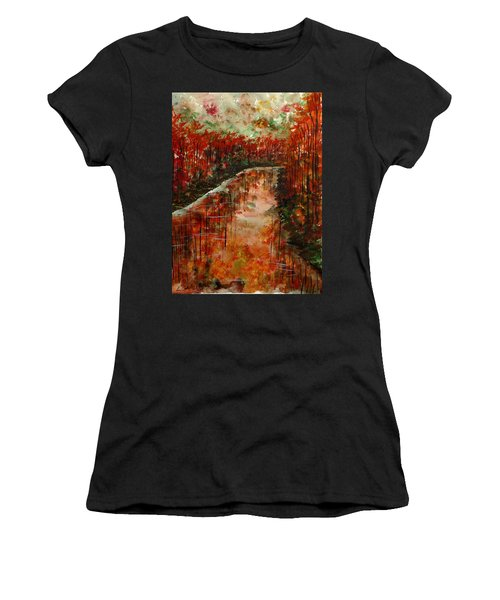 Changing Room Women's T-Shirt (Athletic Fit)