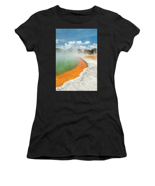 Champagne Pool Women's T-Shirt (Athletic Fit)