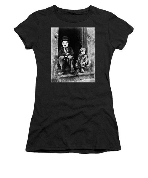 Chaplin: The Kid, 1921 Women's T-Shirt