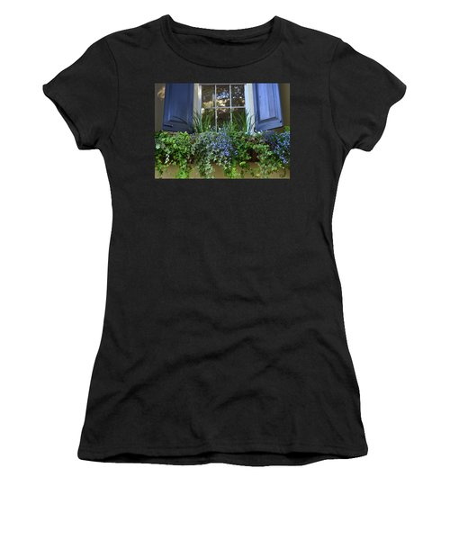Charleston Flower Box 3 Women's T-Shirt (Athletic Fit)