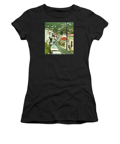 Charlotte Amalie Neighborhood Women's T-Shirt (Athletic Fit)