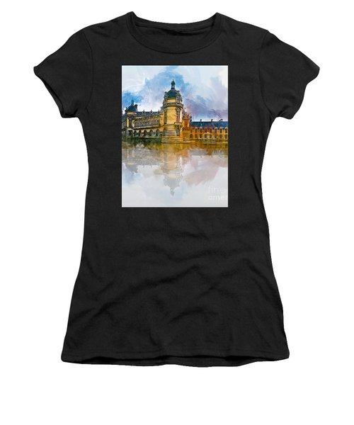 Chateau De Chantilly Women's T-Shirt (Athletic Fit)