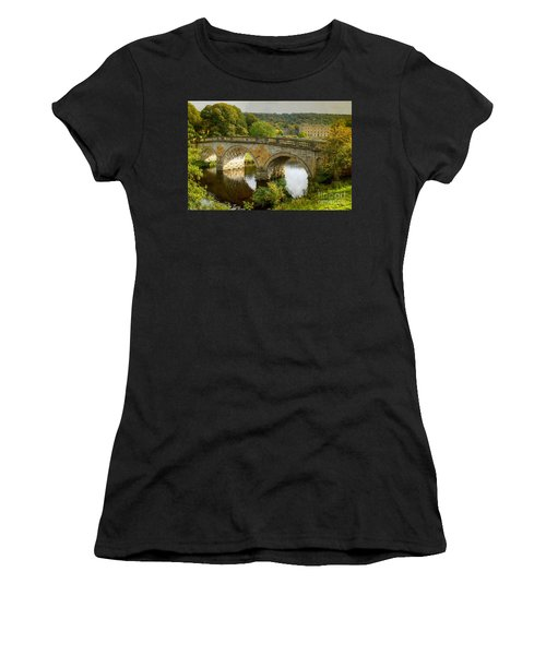 Chatsworth House And Bridge Women's T-Shirt