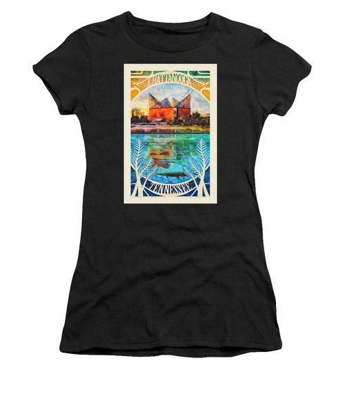 Chattanooga Aquarium Poster Women's T-Shirt