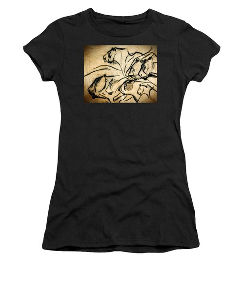 Chauvet Cave Lions Women's T-Shirt