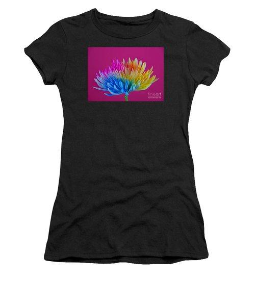 Cheerful Women's T-Shirt (Junior Cut) by Ray Shrewsberry