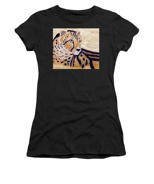 Cheeta Women's T-Shirt (Athletic Fit)