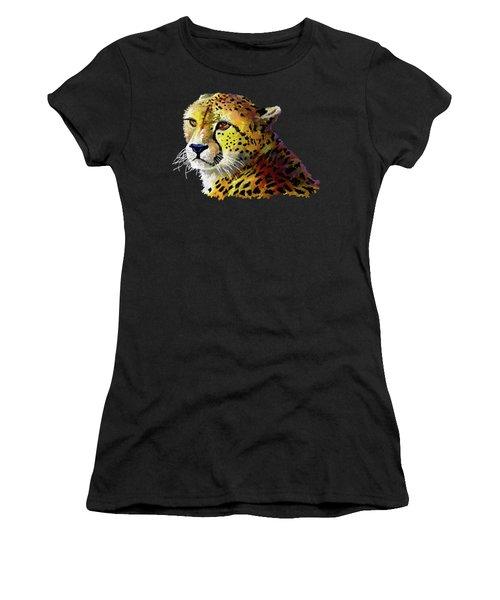 Cheetah Women's T-Shirt (Athletic Fit)
