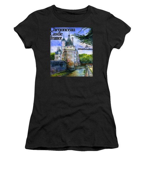 Chenonceau Castle Shirt Women's T-Shirt (Athletic Fit)