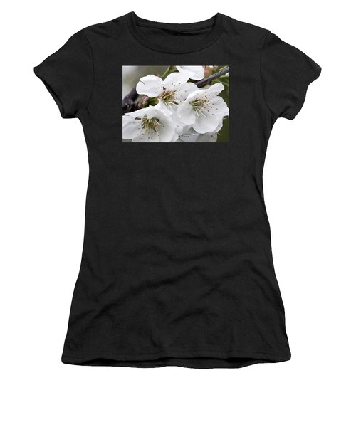 Cherry Blosoms Women's T-Shirt (Athletic Fit)