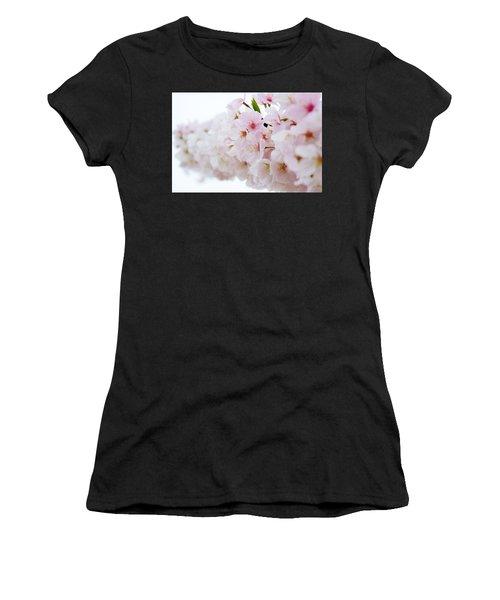 Cherry Blossom Focus Women's T-Shirt
