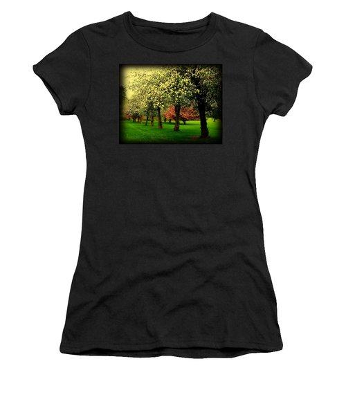 Cherry Blossom Trees Women's T-Shirt