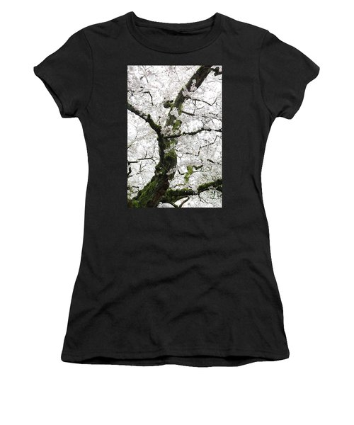 Cherry Blossoms 119 Women's T-Shirt (Athletic Fit)