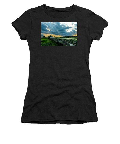 Cherry Grove Channel Marsh Women's T-Shirt
