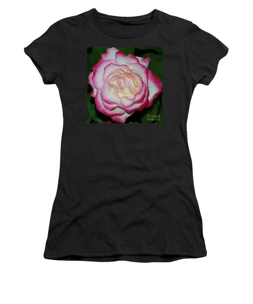 Cherry Parfait Rose 1 Women's T-Shirt (Athletic Fit)