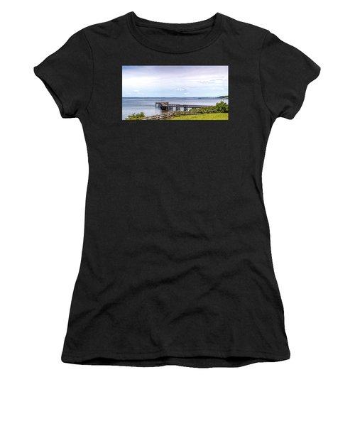Chesapeake Bay Maryland Panorama Women's T-Shirt
