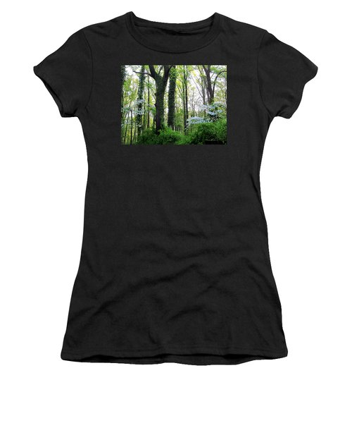Chesapeake Oldgrowth Forest Women's T-Shirt (Athletic Fit)