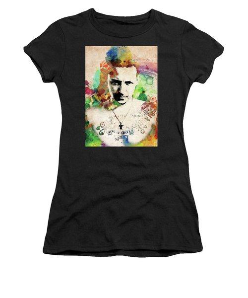 Chester Bennington Women's T-Shirt (Athletic Fit)