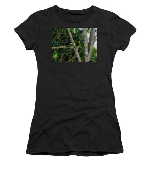 Chestnut-mandibled Toucans Women's T-Shirt