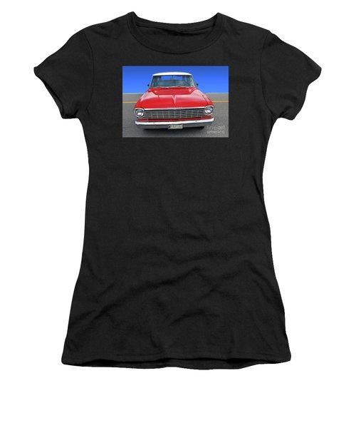 Chev Wagon Women's T-Shirt (Athletic Fit)