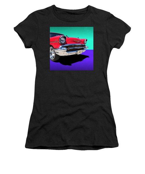 Chevrolet Bel Air Color Pop Women's T-Shirt