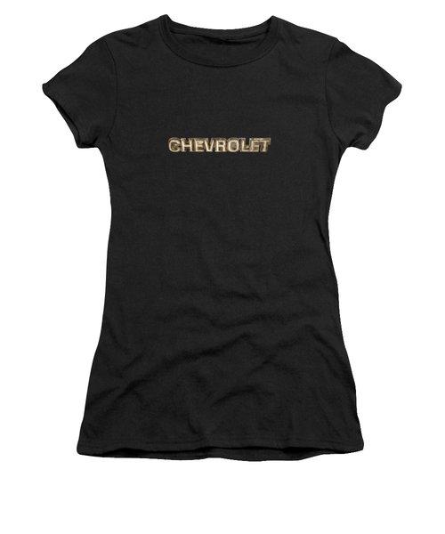 Chevrolet Chrome Emblem Women's T-Shirt