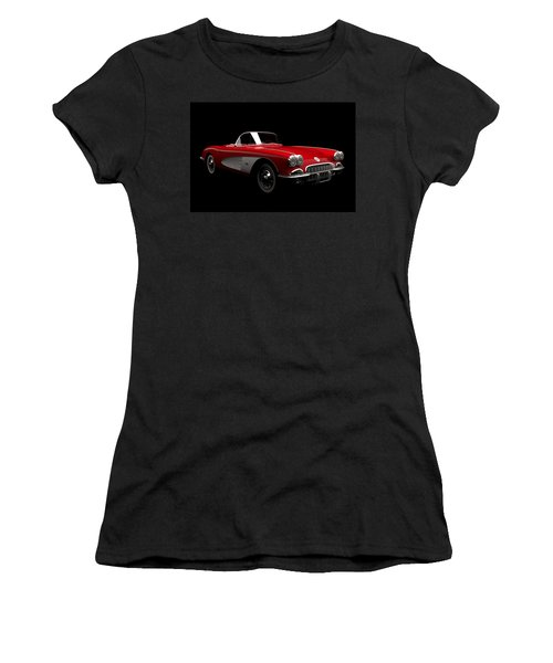 Chevrolet Corvette C1 Women's T-Shirt (Athletic Fit)