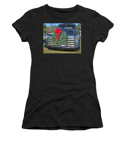 Chevy Christmas Women's T-Shirt (Athletic Fit)
