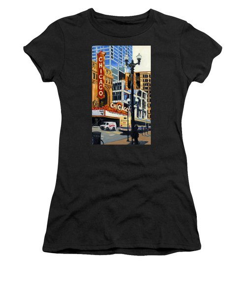 Chicago - The Chicago Theater Women's T-Shirt