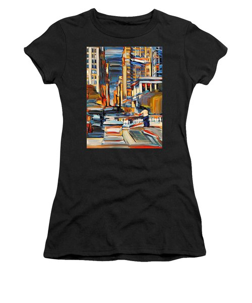 Chicago Colors 7 Women's T-Shirt (Athletic Fit)