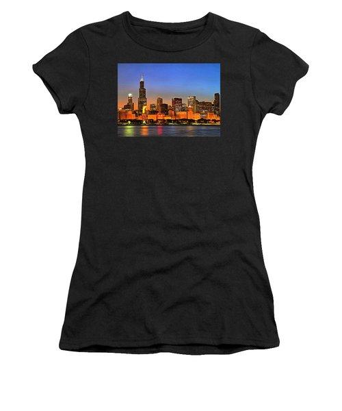Chicago Dusk Women's T-Shirt
