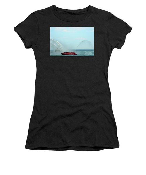 Chicago Fire Department Fireboat Women's T-Shirt