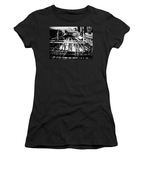 Chicago Railroad Yard Women's T-Shirt