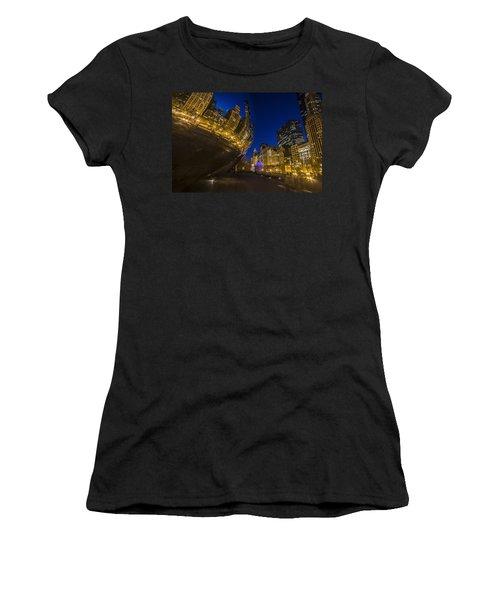 Chicago's Millenium Park At Dusk Women's T-Shirt