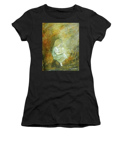 Childhood Wishes Women's T-Shirt (Athletic Fit)