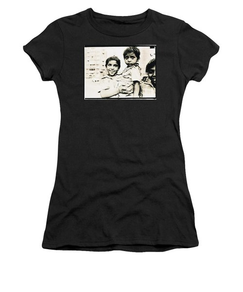 Of Hope And Fear, Children In Mexico Women's T-Shirt (Athletic Fit)