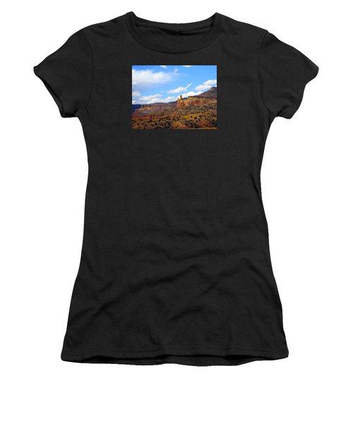 Chimney Rock Ghost Ranch New Mexico Women's T-Shirt