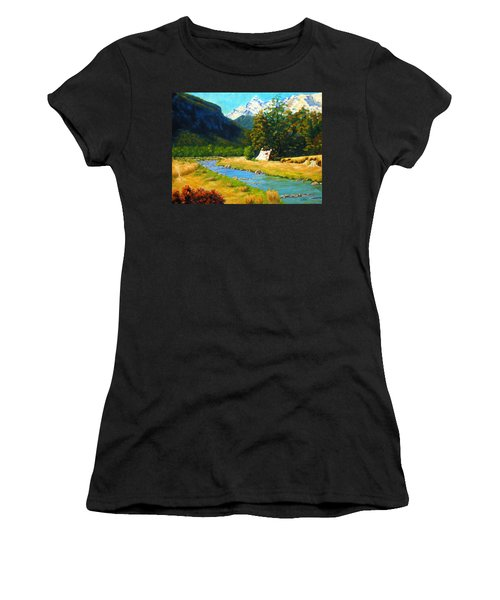 Chinamans Bluff Women's T-Shirt (Athletic Fit)