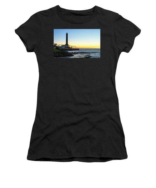 Chipiona Lighthouse Cadiz Spain Women's T-Shirt