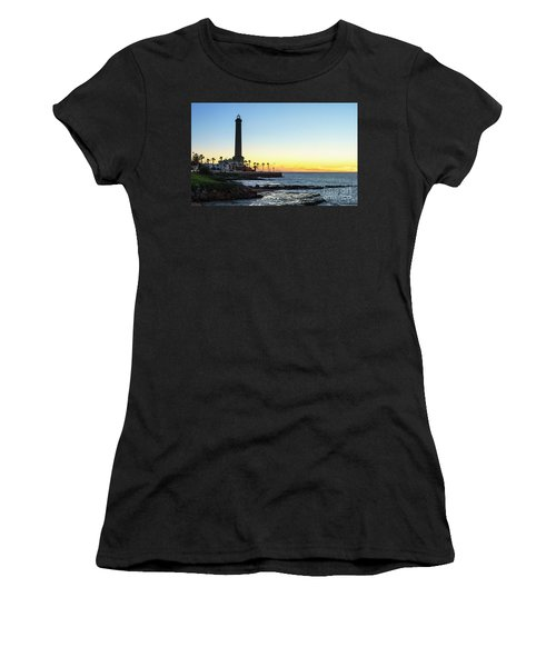 Chipiona Lighthouse Cadiz Spain Women's T-Shirt