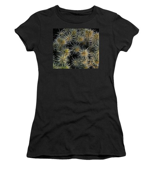 Cholla Cactus Cluster Women's T-Shirt (Athletic Fit)