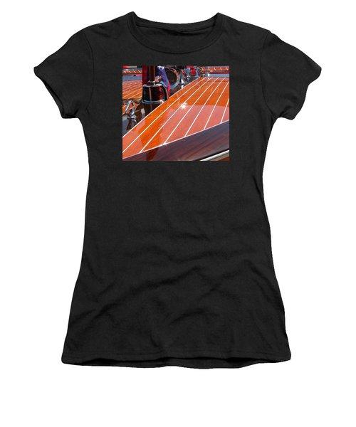 Chris Craft Bow Women's T-Shirt